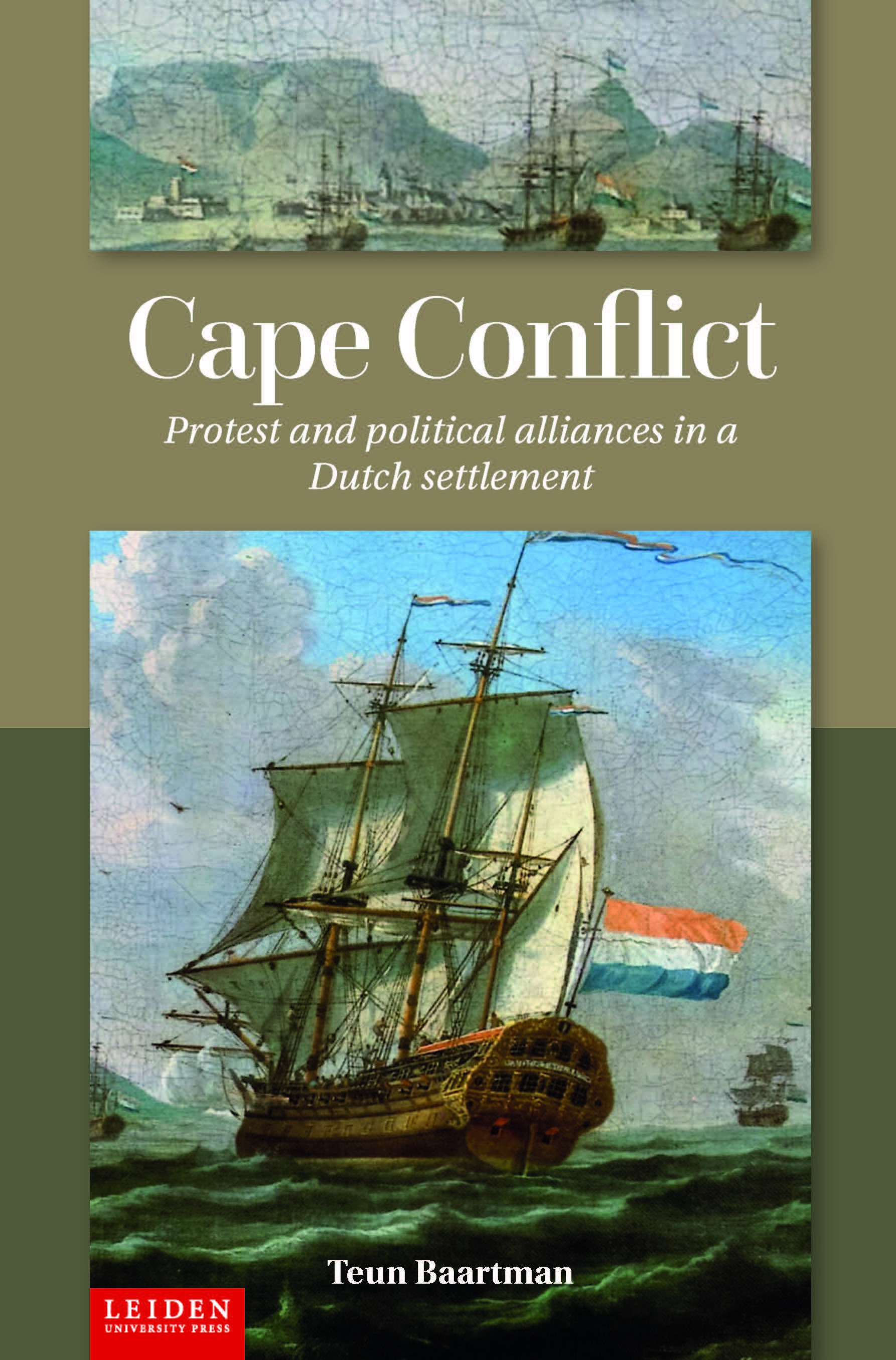 Cape Conflict cover chosen Leiden UP