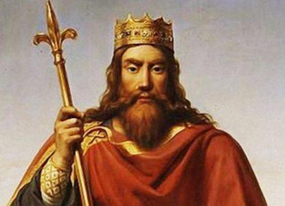 Clovis I de eerste koning der Franken