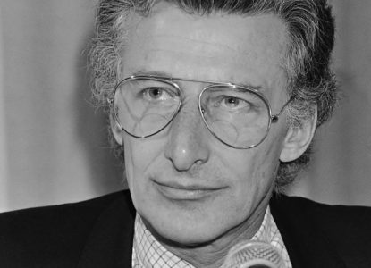 Harry Mulisch 1981 Hans van Dijk Anefo Nationaal Archief