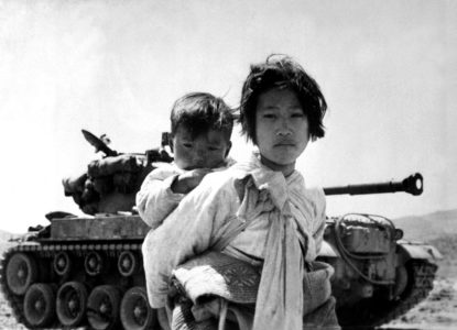 Korean War Korean civilians ca1951