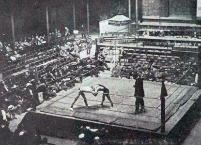 La lutte aux JO d Anvers 1920
